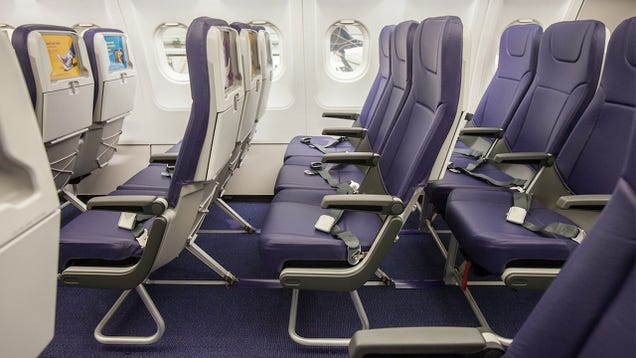 New Budget Airline Seats Swap Screens For Built-in Tablet Holders