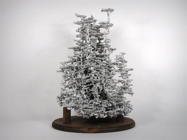 Pouring hot aluminum into an ant hill reveals its secret hidden beauty