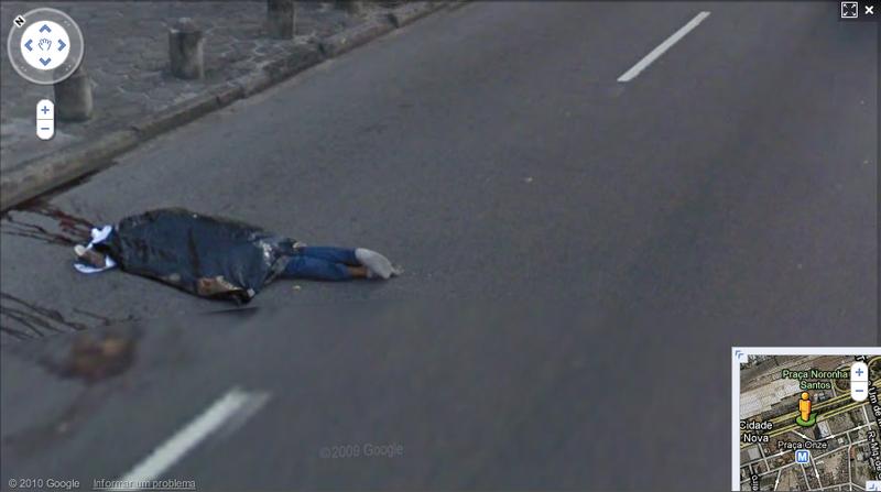Murder Captured By Google Street View Car