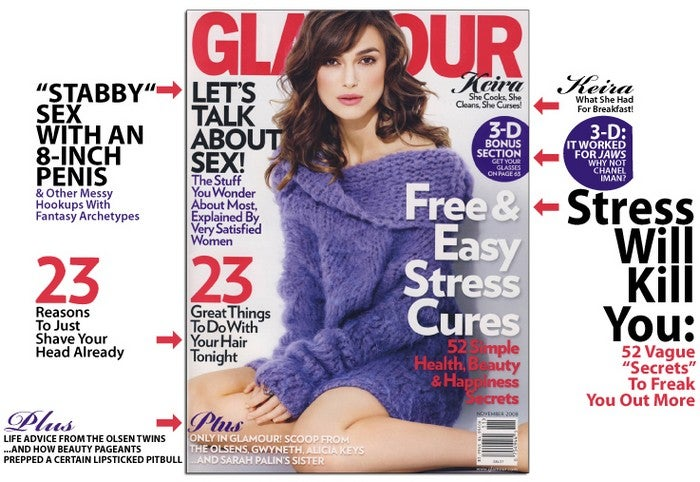 November Glamour Says Relax, Goddammit!