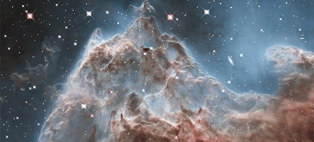 Travel through the Monkey Head Nebula in this new Hubble visualization