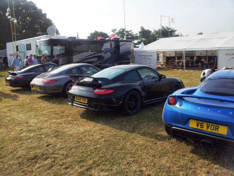 Goodwood FOS 2013 - Supercar Owner's Car Park