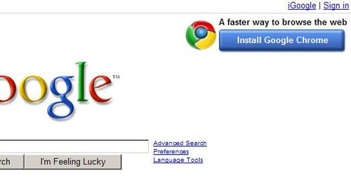Can Google's Chrome Banner Change the Course of the Browser Wars?