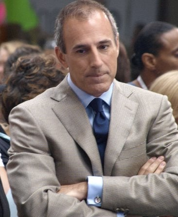 Extravagant Matt Lauer/Horse Wedding Postponed Indefinitely