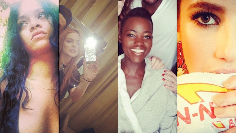 Selfie Loathing: Lupita Nyong'o Even Looks Amazing in a Bathrobe