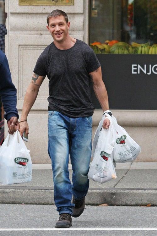 Tom Hardy Wants To Make You Dinner. He Already Shopped!
