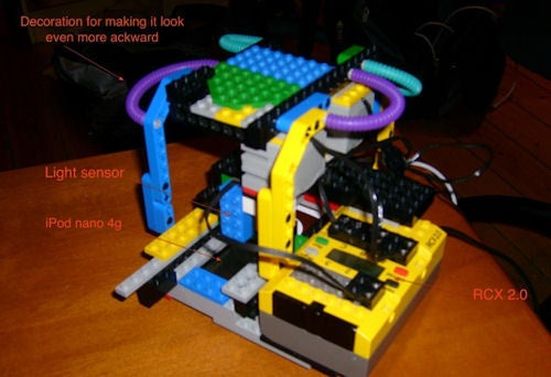 Nanontron 3000: The iPod Nano Hacking Lego Robot