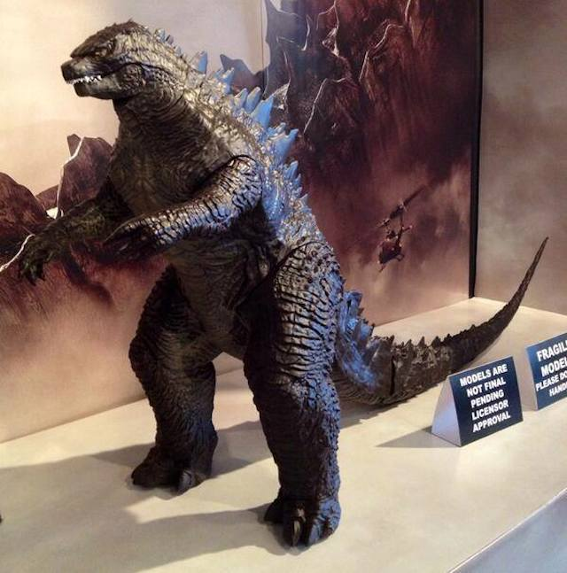Toy offers best look at the brand-new Godzilla design yet