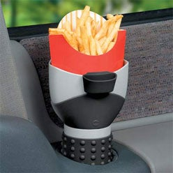 French Fry Holder Holds Your Fries, Fatty