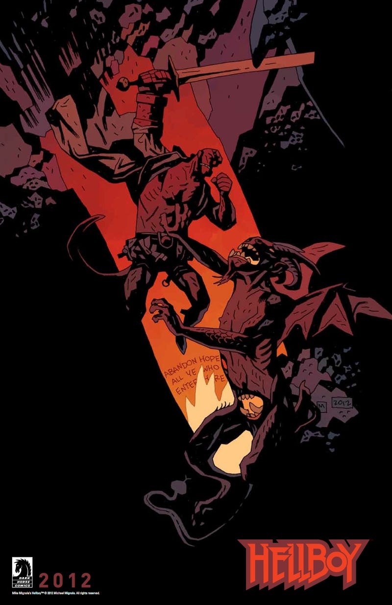 Your very first look at Hellboy's trip to Hell