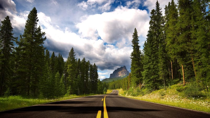What's the best open road wallpaper?