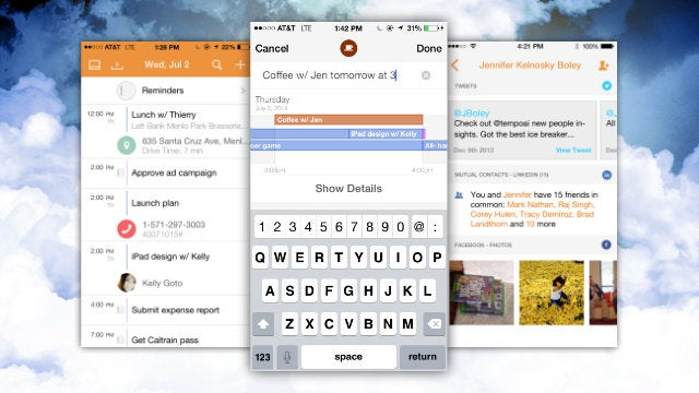Tempo Smart Calendar Adds Natural Language, Reminders, Waze, and More