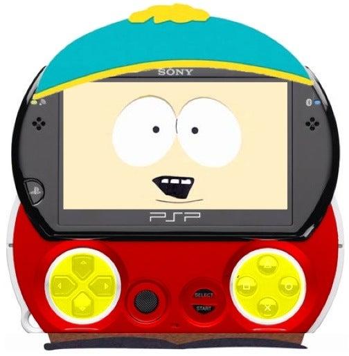 PSP Go A Dead Ringer For South Park's Eric Cartman