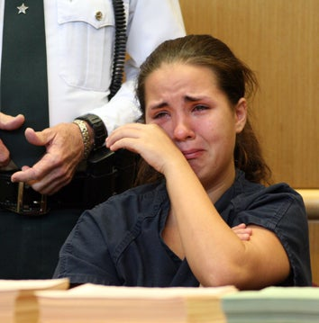 Hiccup Girl Cries, Hiccups In Court