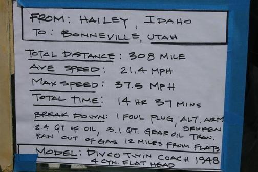 The Coolest Slowest Car At Bonneville