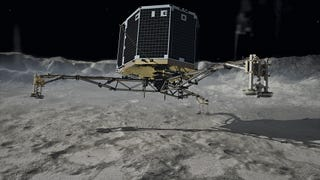 Listen To The Recording Of Philae Landing On Comet 67P