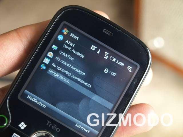 Palm Treo Pro Live Shots