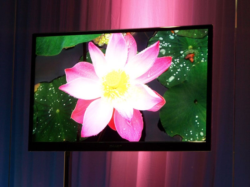 """Sharp Unveils """"Experimental"""" LCD TVs Just 20 mm Thick"""