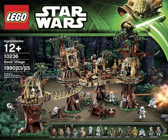 Lego unveils Ewok Village set for all your Lego Ewok massacre needs