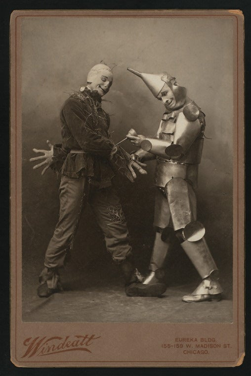 The 1902 adaptation of The Wizard of Oz looked extremely unsettling