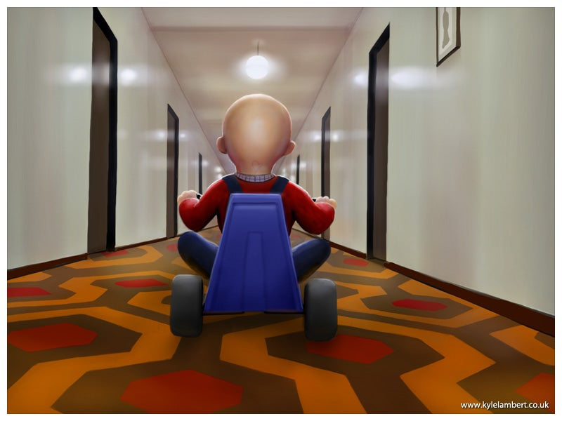 Toy Story 3/The Shining mashup just wants to play with you