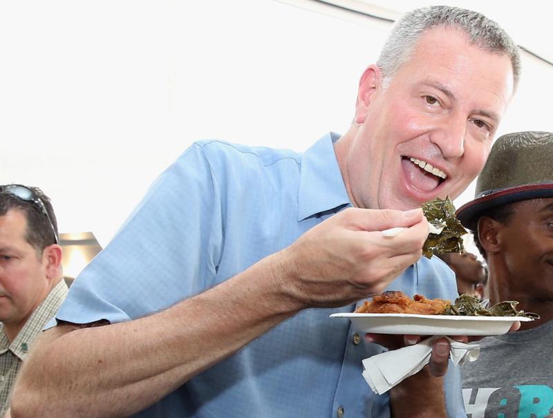New York City's Mayor Got a Super Wack Gym Routine