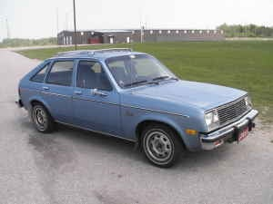 Dis' 'Ole Chevette for an Oil-Burning $2,200!