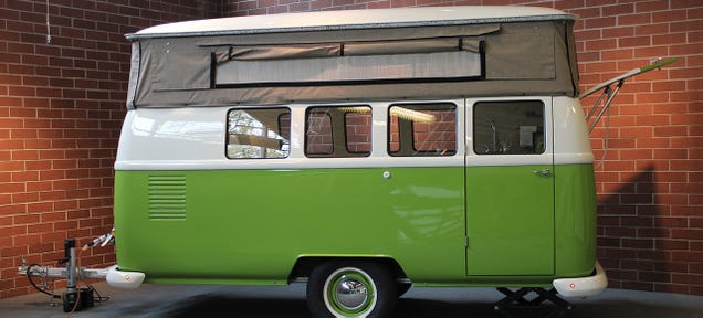Can T Find A Vw Camper Van This Retro Trailer Is The Next