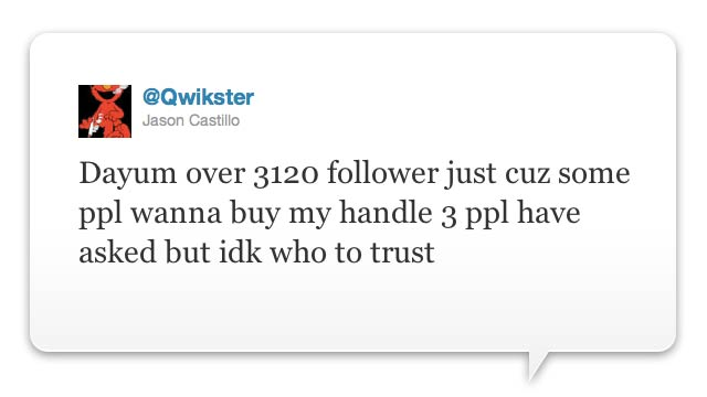 Could @Qwikster Make Mad Bank Selling His Twitter Handle to Netflix?