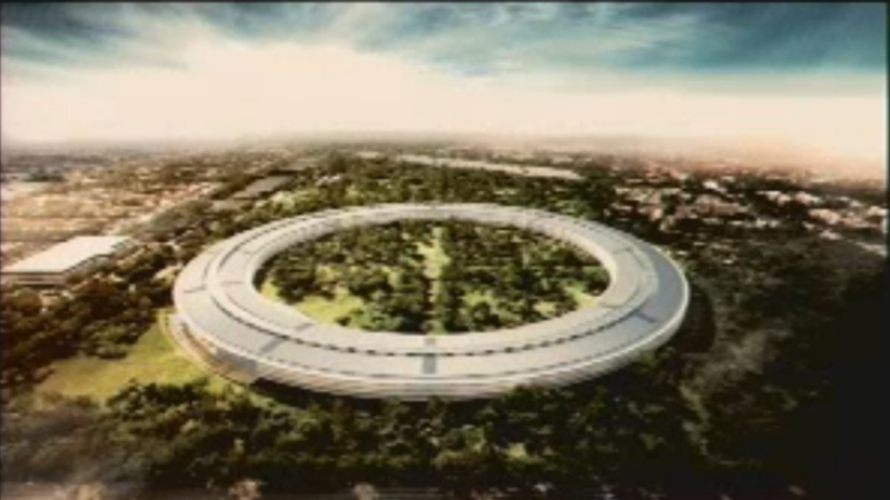 Steve Jobs Wants To a Build a Spaceship-Like Campus in Cupertino