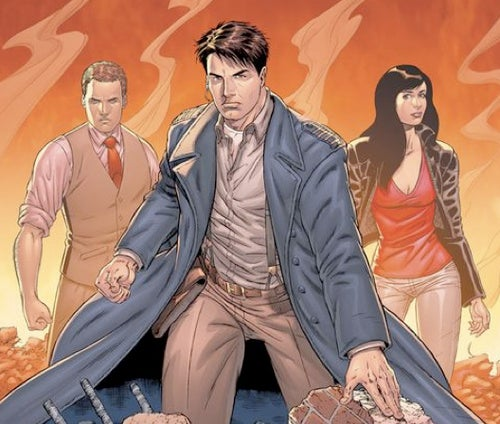 This Wednesday, Torchwood's Captain Jack writes his own comic