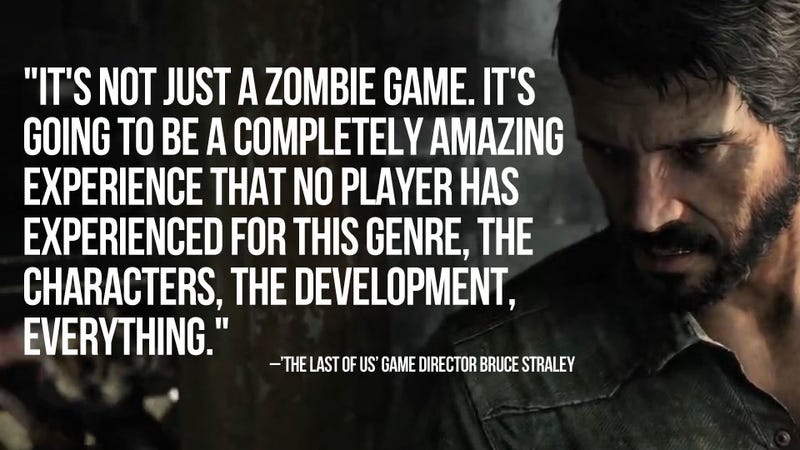 Naughty Dog Calls Out Video Games for Weak Stories, Promises to Blow Brains with The Last of Us