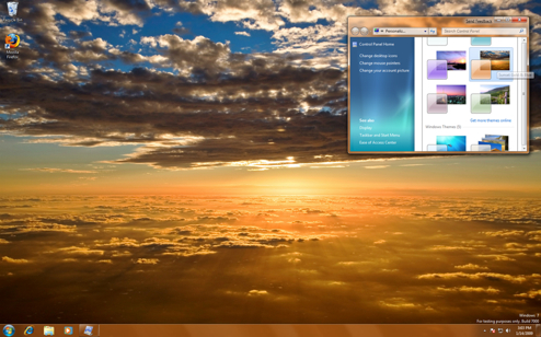 Windows 7 Beta's Many Free and Legit Themes