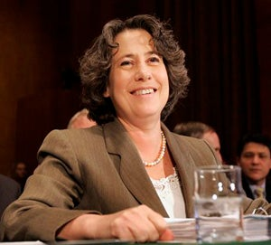 "Potential Treasury Secretary Sheila Bair Is A ""Woman To Watch"""