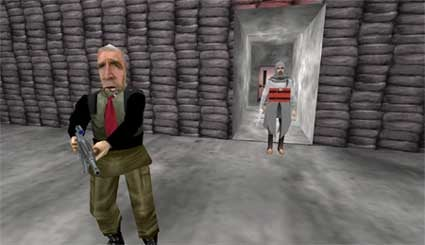 First-Person Shooter Turns Political