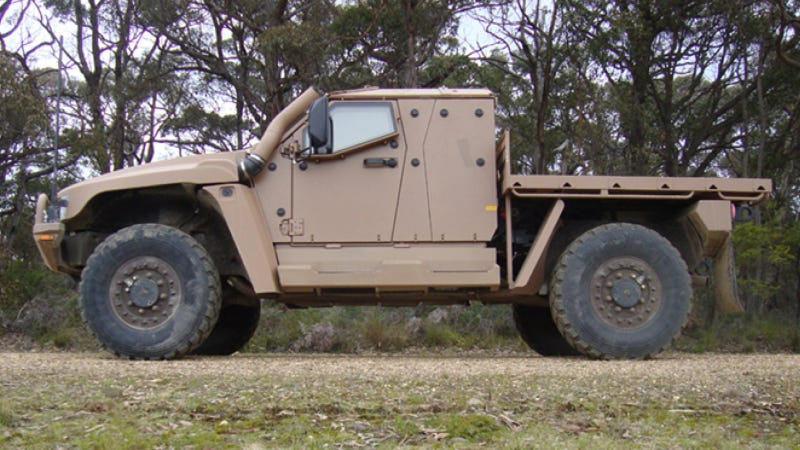 Thales Military Vehicles Pressing On As Australian Auto Industry Dies