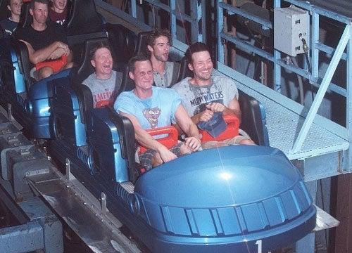 Soaking Wet Tony Romo Enjoys All Six Of The Six Flags
