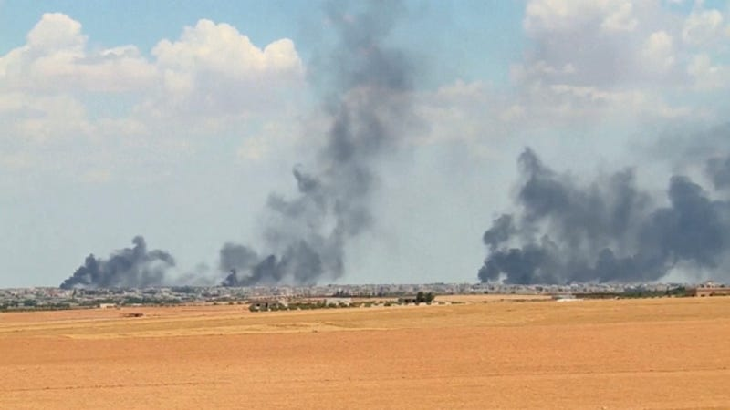 Dozens More Civilians Reportedly Killed in U.S.-Led Coalition Airstrikes in Syria