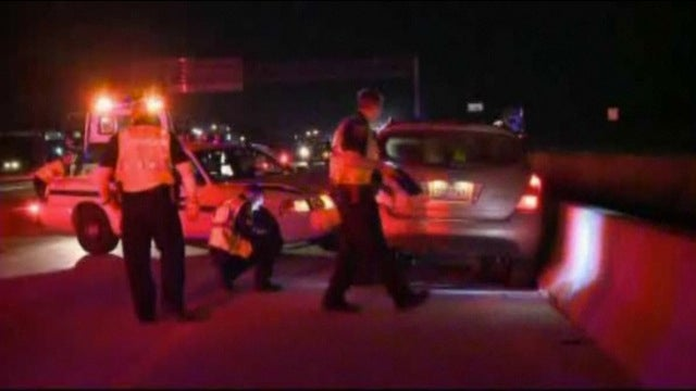 Cop prevents drunk driving crash by crashing into drunk driver