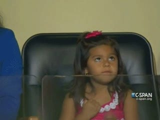 This 3-Year-Old Just Styled All Over the Democratic National Convention