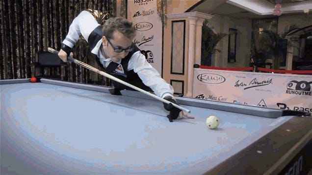 You Are Probably Not As Good At Pool As This Guy