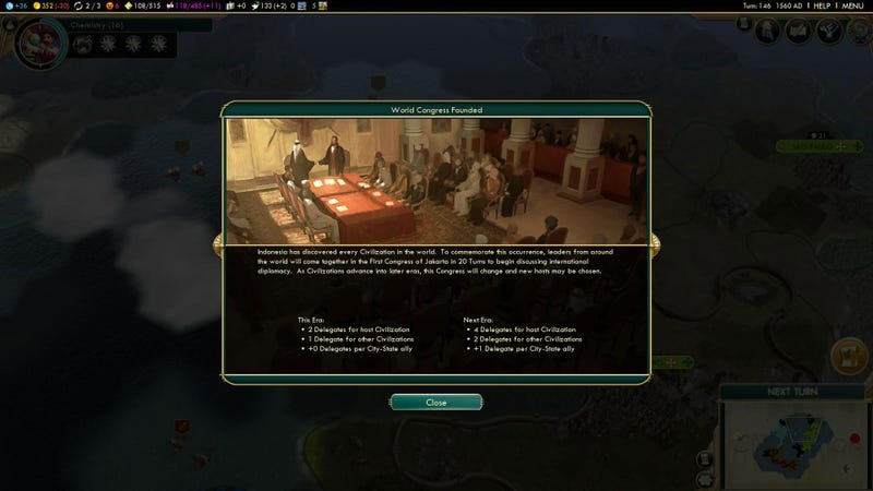 Inheriting Civilization V's Brave New World, One Trade At A Time
