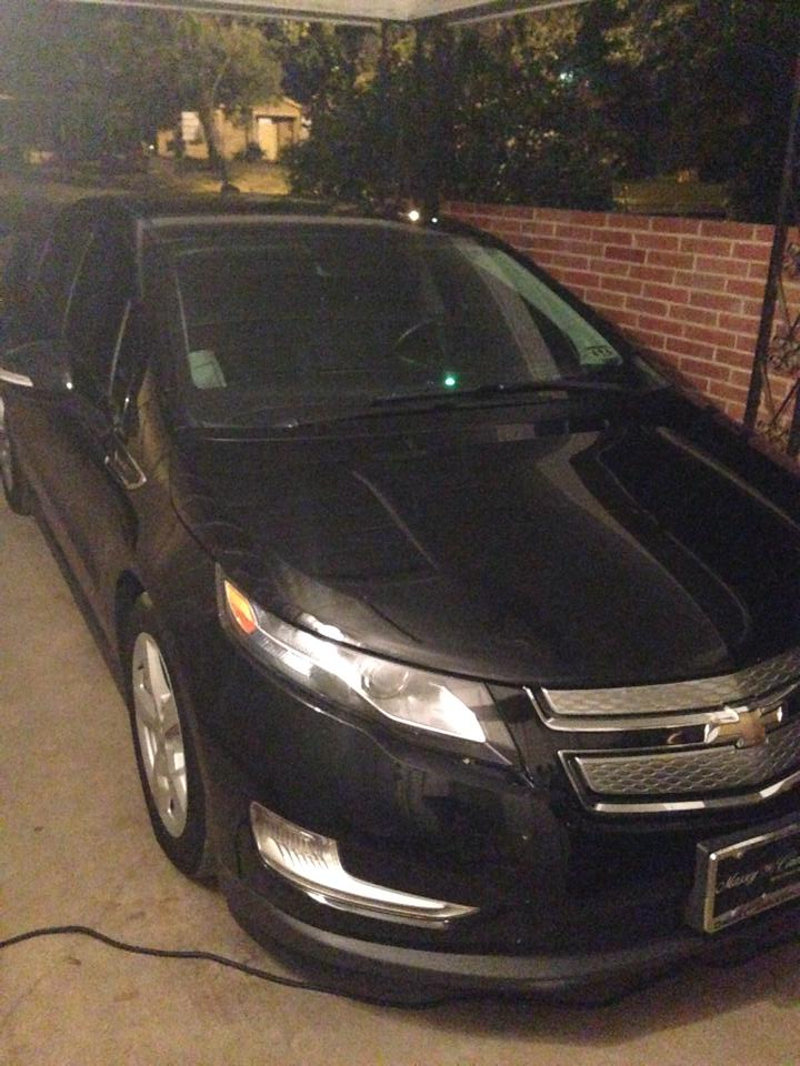 My brother traded a Camaro for a Volt