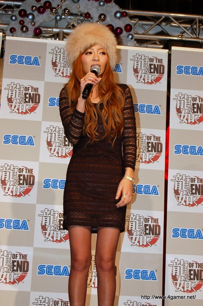 Sega Recreates Fashion Model's Flaring Nostrils