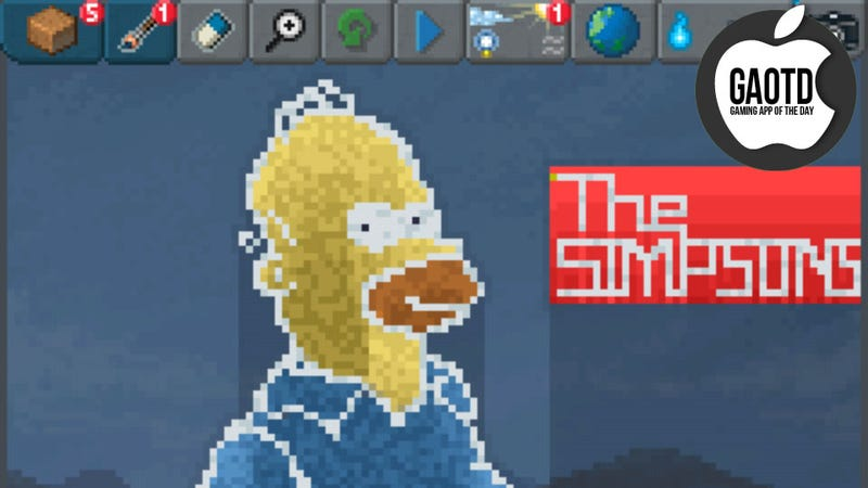The Sandbox Proves That God Really Just Wants to Draw Simpsons Fan Art