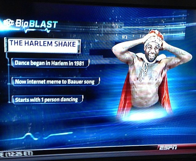Miami Heat Do The Harlem Shake, SportsCenter Explains It For The Stupids