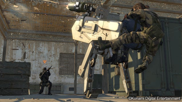 Metal Gear Online Is...Metal Gear Solid V's Multiplayer