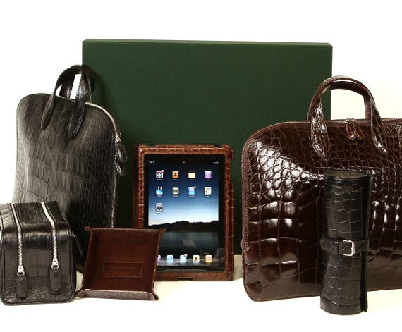 World's Priciest iPad Case is Hewn From an Alligator's Back