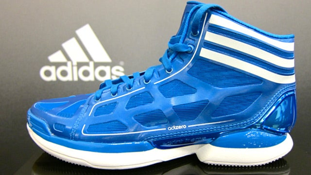 Shooting Hoops in the Adidas AdiZero Crazy Lights, the Lightest Basketball Shoes Ever Made