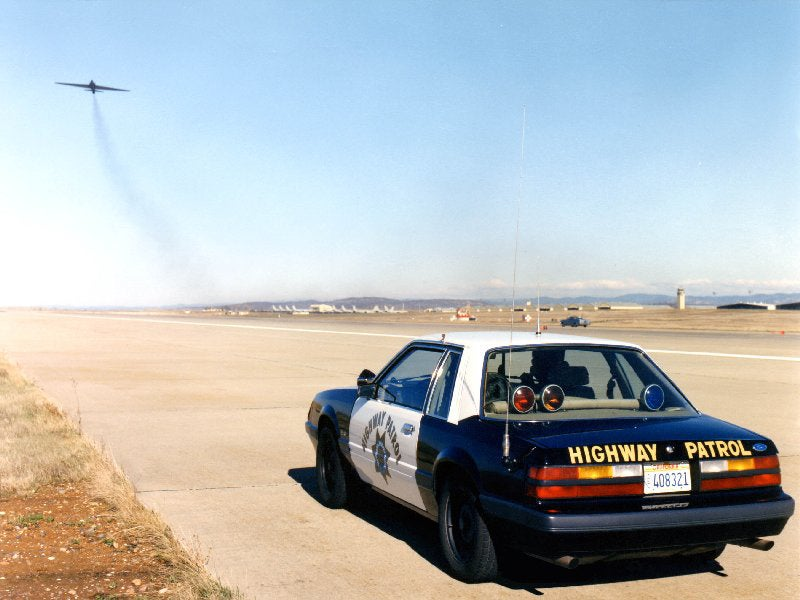 The 140-Mph Chase Cars Of The U.S. Air Force